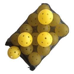 Wholesale New 26-hole Rotation Pickleball with Frosting for Outdoor Indoor Play Pickleball Game