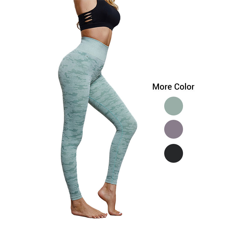 Hoge Taille Naadloze Yoga Fitness Leggings