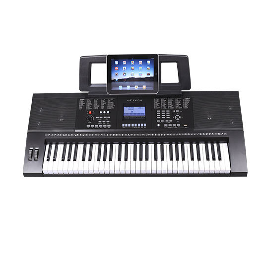 61 Keys LCD Musical Electronic Keyboard Piano with MIDI function touch response touch sensitivity organ