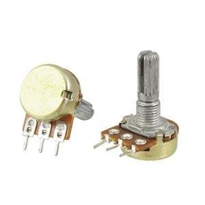 3pin 15mm single rotary potentiometer WH148 B5K B10K B20K B50K B100K