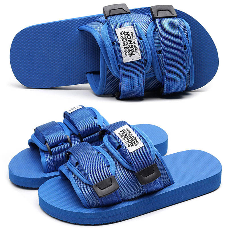 1 pair fashion Vietnam sandal for mens, outdoor summer men's shoes non-slip slipper breathable adjustable sport sandals