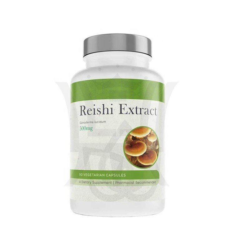Superior Ruishi Extract Mushroom Vegetarian Plant Based Capsule Supports Immunity System