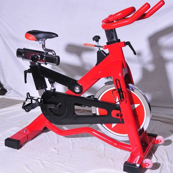 Best price commercial Spin Bike iron casting electroplated made in China