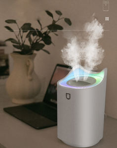 2020 Laudtec 3000ml Air Humidifier, USB Cool Mist Humidifier with Led Night Light