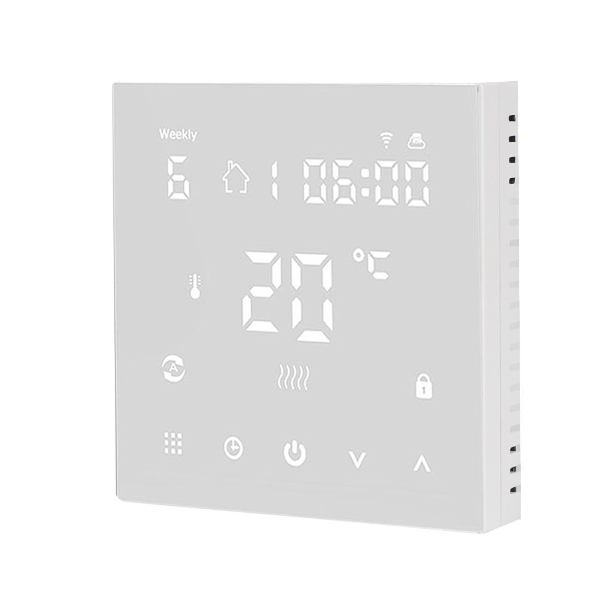 WIFI LCD Touch Screen HVAC tools certificated smart programmable Electric Floor Water Heater Radiator Room Thermostat