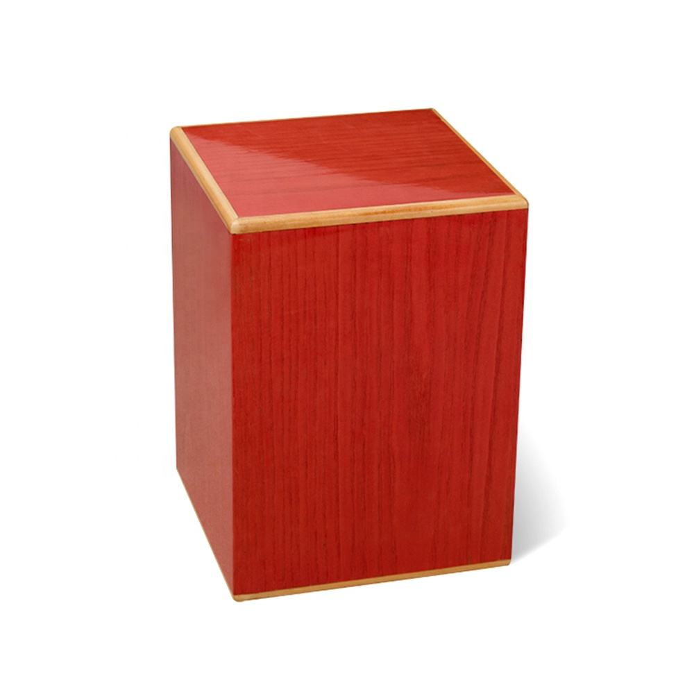 Wholesale small human burial urns box for ashes container funeral
