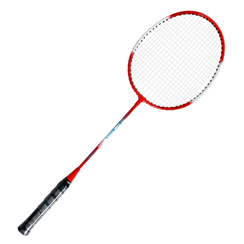 Factory direct wholesale model WOVEN FLY 829 low price cheap iron badminton racket