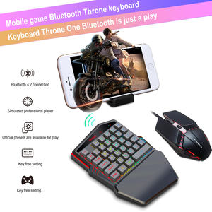 K99 Nirkabel Bluetooth Versi 4.2 Game Mobile Keyboard Mouse Set Keyboard Mouse Combo Wireless Keyboard dan Mouse
