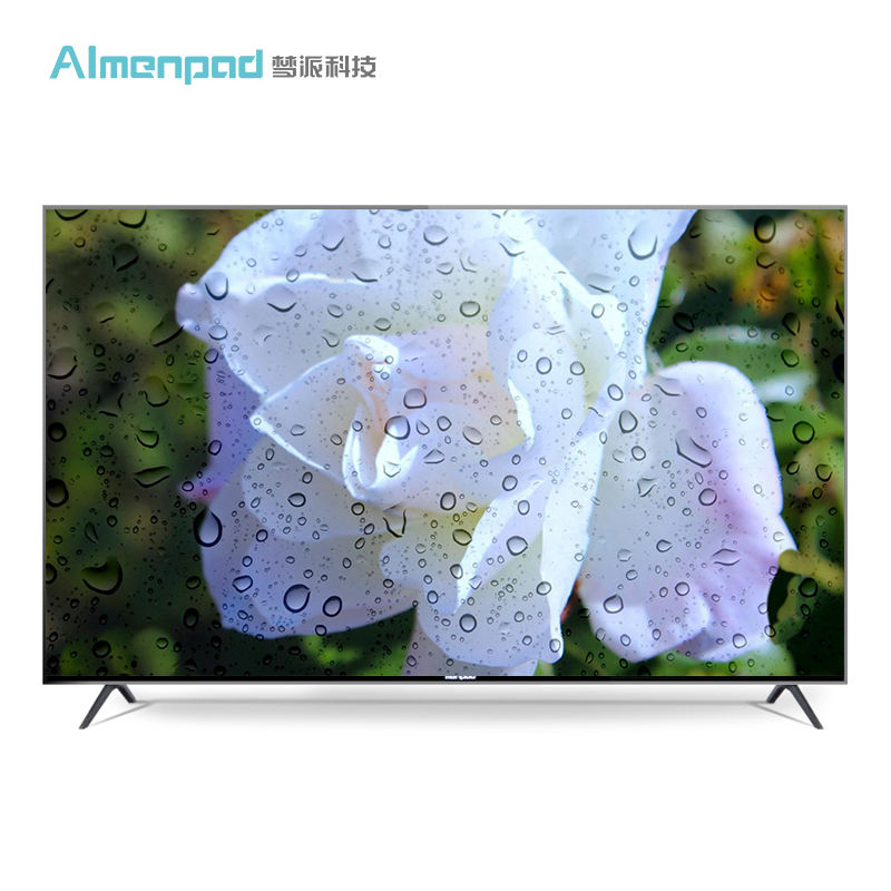 AIMENPAD tempered glass 1G+8G smart led televisions 4K 55 inch tv
