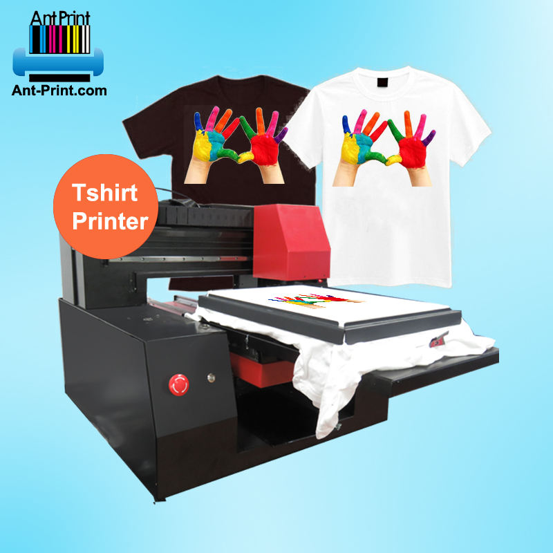 Automatische digitale a3 dtg t-shirt printer <span class=keywords><strong>flatbed</strong></span> drukmachine direct t-shirt drukmachine voor t-shirt