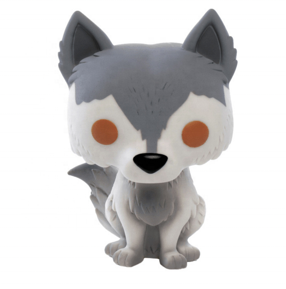 FUNK POP GAME OF THRONES GHOST Wolf Nymeria 10cm Action model Figure Toys 2019 kids toys new 23# 76#