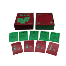 Drinking game, customized Paper&cardboard Material Table board game with marker