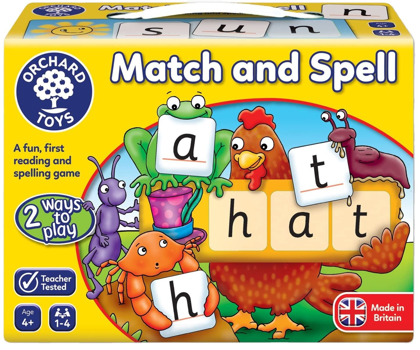 Magnetic Educational Toys of Math and Spell Game