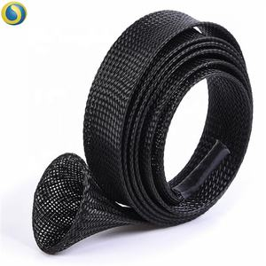 Spinning fishing rod protective 40mm*1.7M black fishing rod sleeve