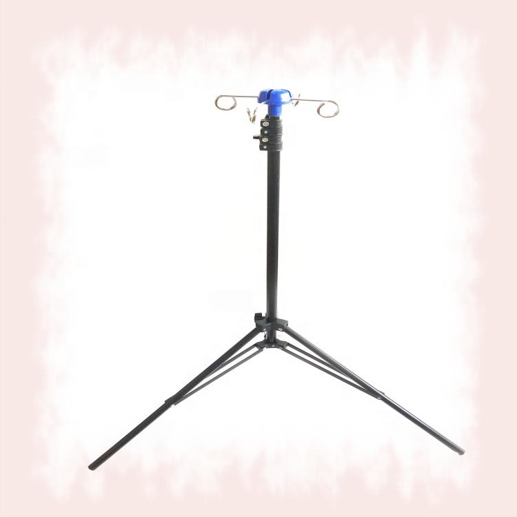 M-IV1 Brand new portable and foldable medical IV drip stand