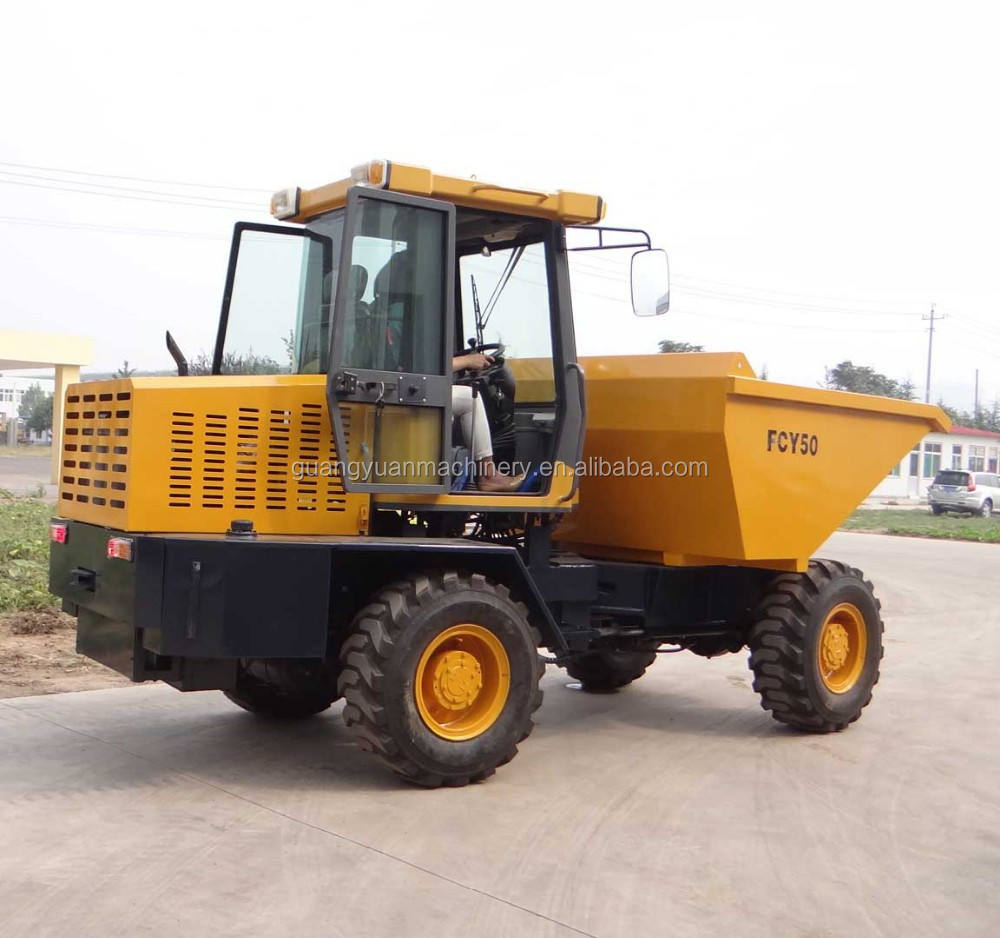 FCY50 Dumper dumper de lagartas de agricultura máquina <span class=keywords><strong>fabricante</strong></span>