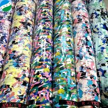 CHINA NEW CHIFFON BEAD PRINT STOCK LOT FABRIC