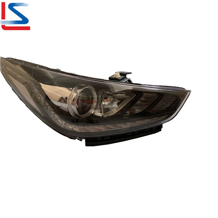 Auto LED Head Lamp for Hyundai ACCENT 2017 2018 2019 2020 BLACK 92101-H5000 92102-H5000 Headlight