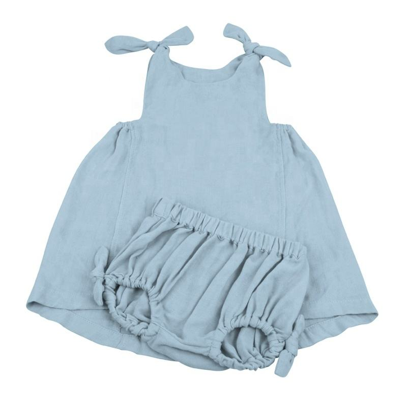 Summer Muslin Kids Dress Soft Girl Sunflower Dress Girls Dress