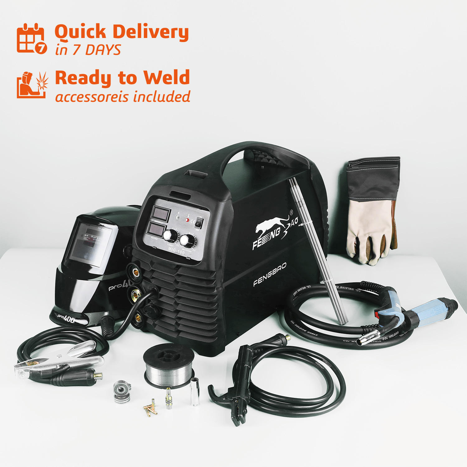 ECO 3 in 1 Inverter Welding Machine MMA/FLUX/MAG/MIG welder