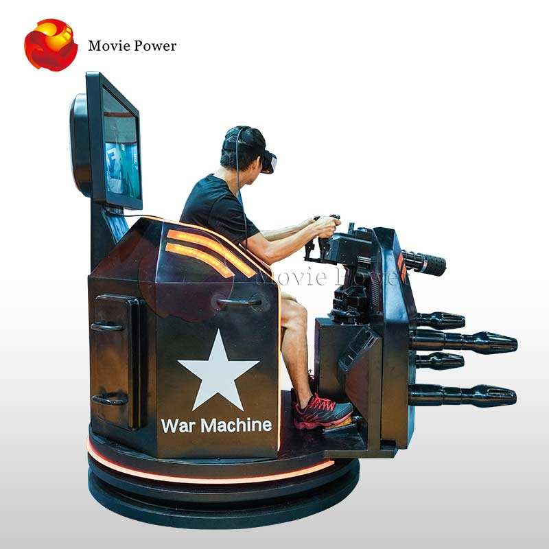 Het Sell VR Machine Guatling Best Vr Shooting Simulator Games War Machine Online Competition for Amusement Park