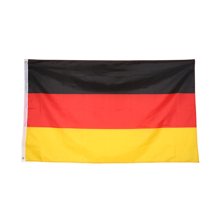 Polyester Material Printing German Flag 90 X150 Cm Flag Wholesale Custom Decoration Flag Banner Products