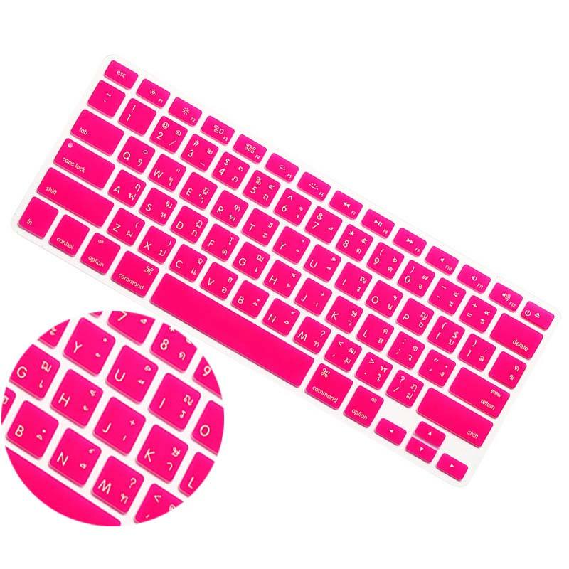 Pour apple <span class=keywords><strong>macbook</strong></span> pro 13 pouces ordinateur portable Thai Thai <span class=keywords><strong>clavier</strong></span> membrane papier autocollant