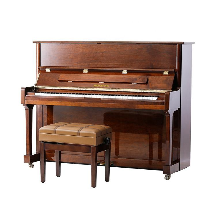 Middleford Shanghai Brand for Sale Upright Piano UP-123WA Produced By Experienced Manufacturer