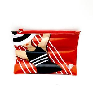 2020 Fancy Style Easy-to-carry Inflatable PVC Pouch Bag Waterproof Cosmetic Bag