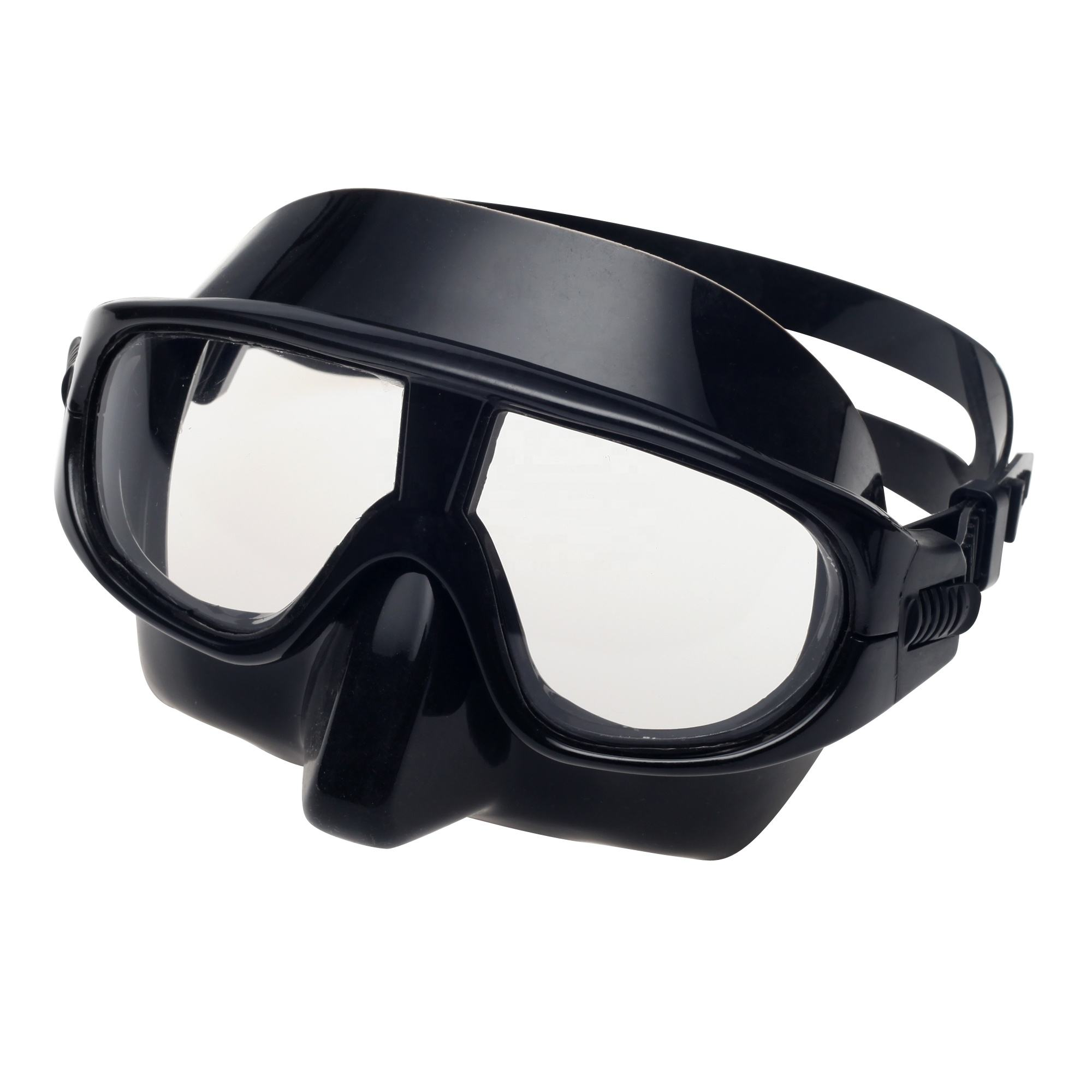 Top quality low volume silicone spearfishing diving snorkeling goggles anti-fog free dive Freediving mask
