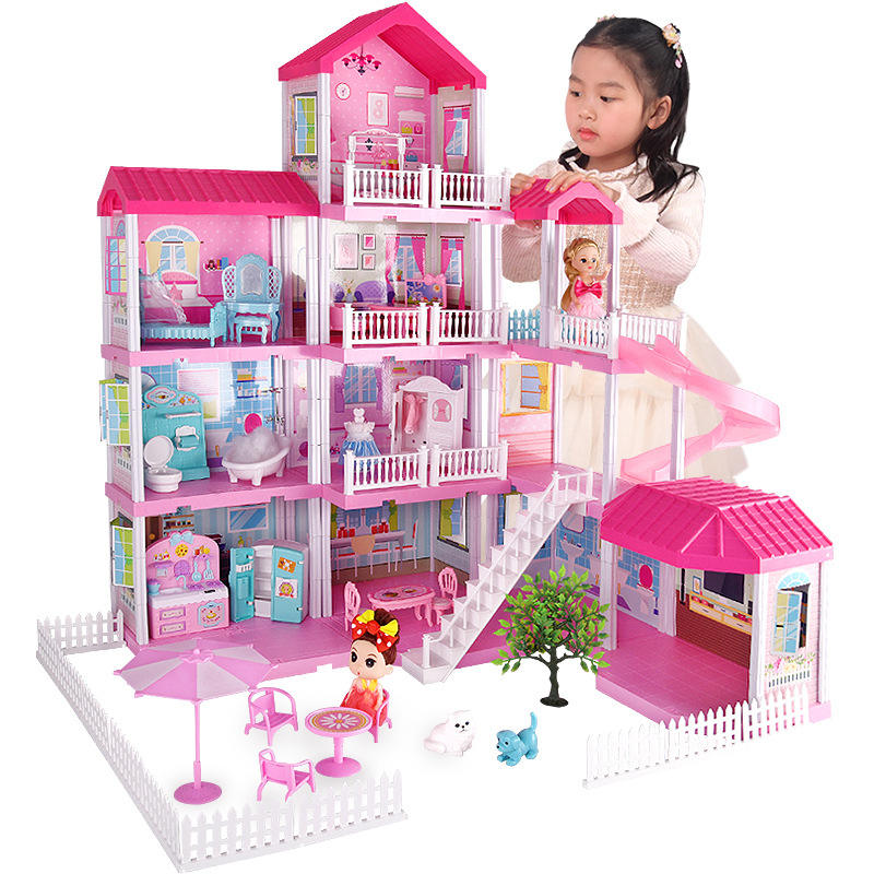 hot sale doll house for kids house toys for girls outdoor and princess doll house