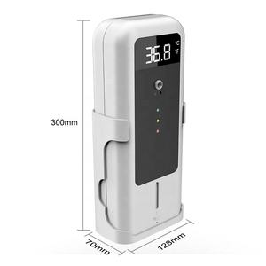 New Product Wall Mounted Digital Standing Floor Sensor Liquid Alcohol Gel Touch Free Infrared Hand Sanitizer Dispenser Automatic