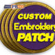 Patch Patches Eco-Friendly 2020 Patch Custom Iron On Patches Embroidery