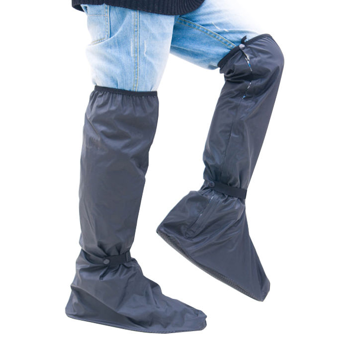 Lengthen below knees New PVC Motorcycle Waterproof Rain Boot Shoe Covers