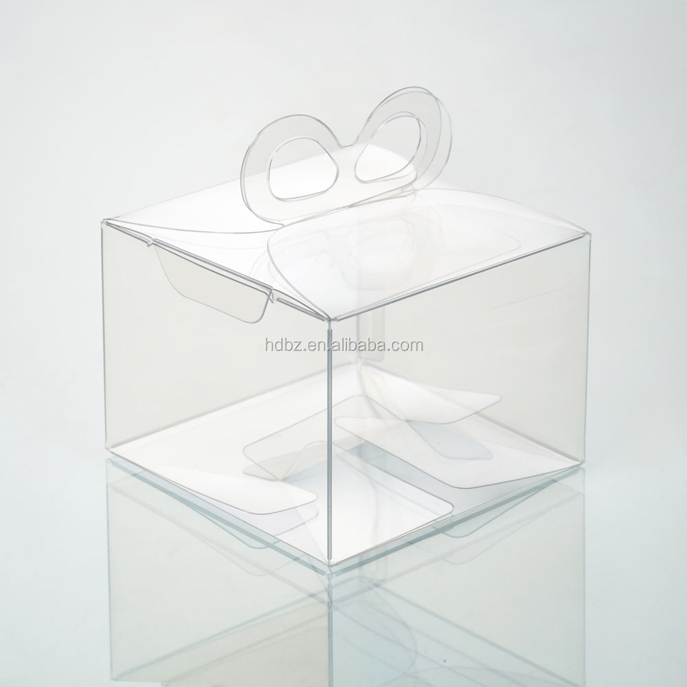 china supplier custom clear cupcake pet box