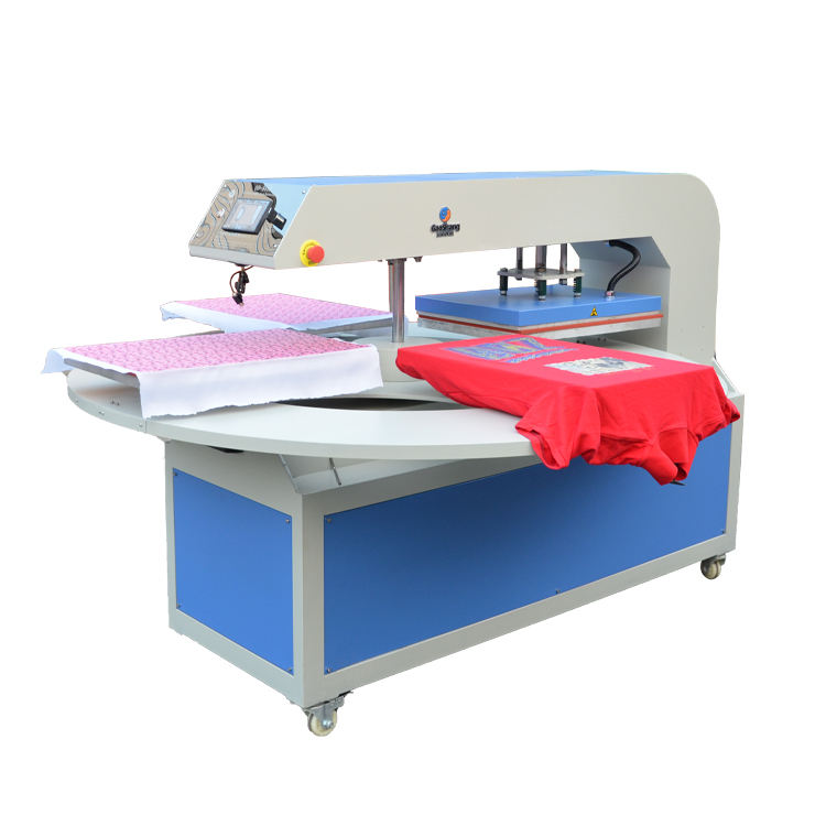 Press Machine T-shirt Chinese Factory 4 Station T-shirt DIY Automatic Heat Transfer Digital Heat Press Machine