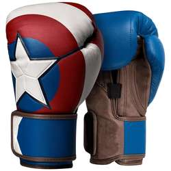 Captain America designed Customized cheap Boxing Gloves