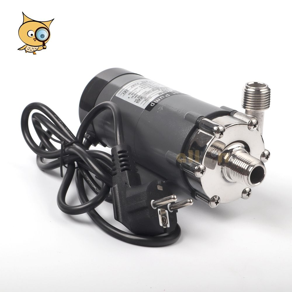 ALL IN Best Seller 304 Stainless Steel CE Certificate HomeBrew MP 15RM Max 140 Wort Pump Magnetic Drive Pump mit 1/2 NPT