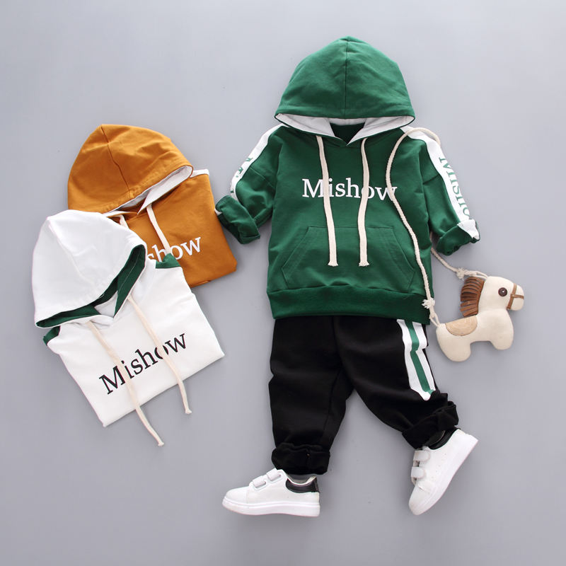 2019Autumn new style children's Hoodies Clothes baby boy jacket+boys clothing sets o-neck hoodies for boys hoodies sweatshirts