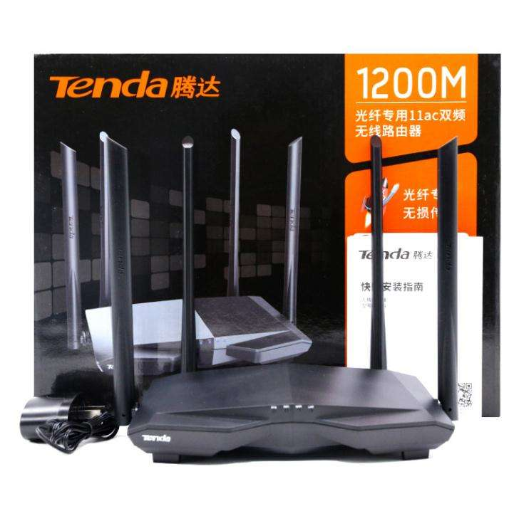 Tenda AC6 Smart Dual Band home AC1200M Manage English Interface wifi router