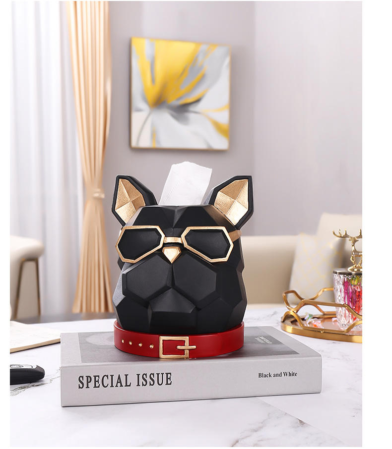 new products Fashion home decorations tissue box Made In China Low Price tissue box animal