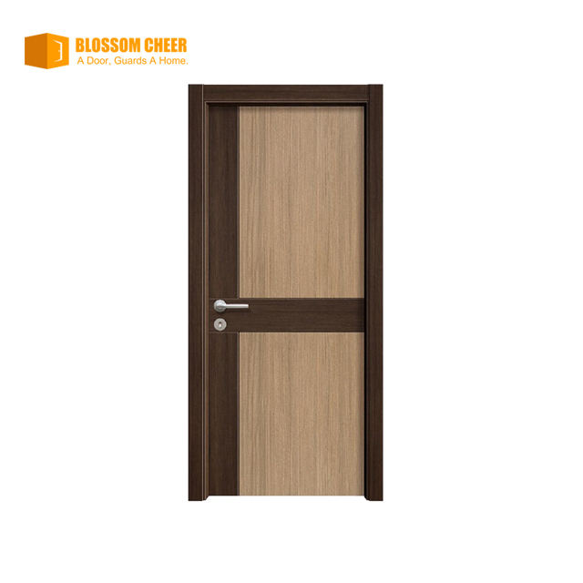 2021 Blossom Cheer Hot Sale Latest Designs High Quality American Style Solid Wooden Door For Home