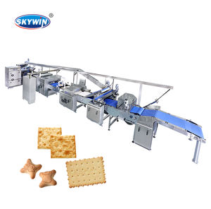 Skywin Factory Price Automatic Hard and Soft Biscuit Production Line