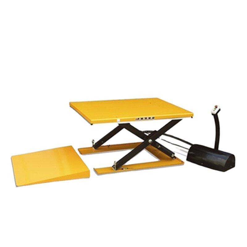 Warehouse 500kg Mini Low Profile Electric Hydraulic Scissor Lift Table