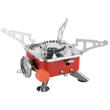 Hot Sale Mini Portable Windproof Camping Stove Gas Stove Burner BBQ Picnic Outdoor Stove