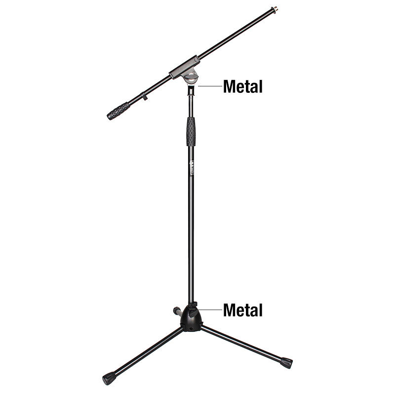 OEM Adjustable Tripod Professional Boom Microphone Stand for Microphone