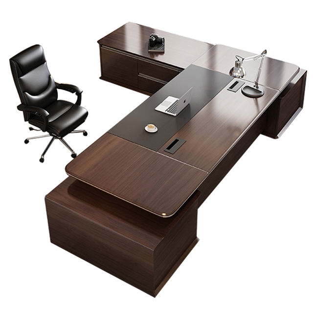Foshan wholesales office furniture modern design director manager luxury office table executive ceo desk