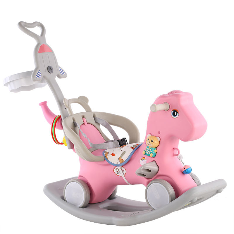 Indoor Cheap plastic rocking horse for gift / Ride on Animal Toys