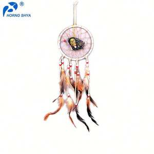 Wholesale Trade Assurance Customized OEM Dream Catcher Feather Decoration