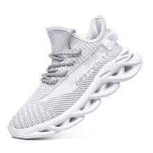 custom wholesale  latest fashion Large size sneakers men mesh brand sport shoes